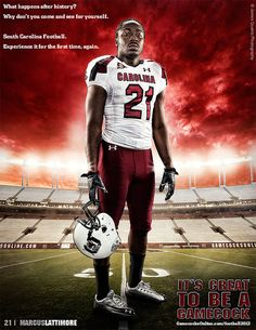It's Great To Be A Gamecock - Marcus Lattimore by South Carolina Gamecocks, via Flickr