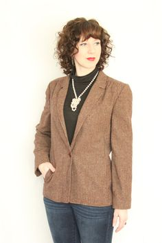Vintage Miss Pendleton Jacket Burgundy Small by foundundertheeaves, $36.00