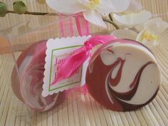 Japanese Cherry Blossom soap rounds