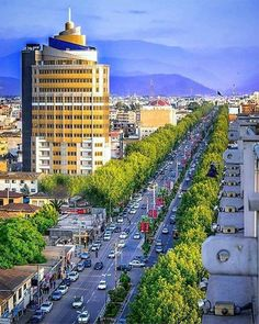Amol city, green #pearl of Mazandaran Province, #north of Iran مدينة امل الساحرة في محافظة مازندران
