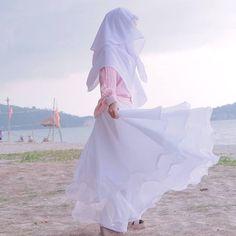 Islamic Girl Images, Niqab, Girls Image, Ballet Skirt, Skirts, Instagram, Fashion, Moda, Skirt