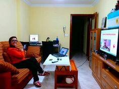 Trabajando en la comodidad de tu sofá!!! Te imaginas poder hacerlo tu también, si quieres hacerlo #anabelycarlos te enseñamos como hacerlo http://anabelycarlosmarketers.info/rias