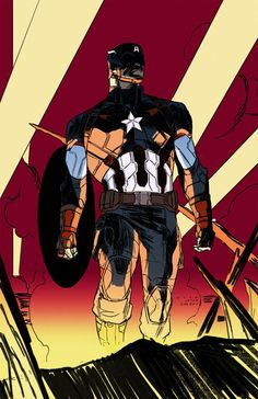 Captain America by Kris Anka after Ron Garney