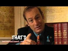 Better call Saul: Tiger trouble Better Caul Saul, Lawyer Jokes, Saul Goodman, Funny Internet, Funny Commercials, Call Saul, Great Tv Shows, Film Books, Article Writing