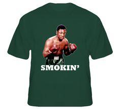 Smokin Joe Frazier Retro Boxing T Shirt