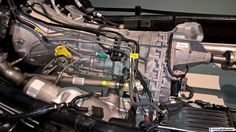 2010 Ford F-150 Raptor chassis in detail.   As presented at the Ford F-150 assembly factory in November 2015.