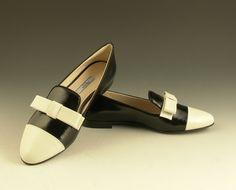 Zapato en saffiano PRADA