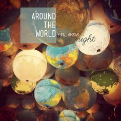 For those guests who have travelled to world to be with you... Planning an around the world party