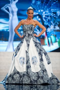 Miss Slovak Republic — Least Shiny | 36 Most Amazingly Elaborate Miss Universe Costumes
