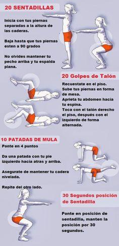 La mejor manera de aumentar glúteos esejercitando los músculos, de esta manera obtendrásun trasero con una forma bien redondeada y natural.  A