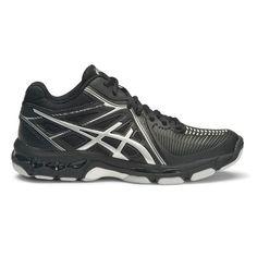 sports shoes 65909 27dea Asics Gel Netburner Ballistic MT Womens Netball Shoes Black   Silver US 9,  Black