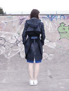 #streestyle #coat #details #textiles #skatepark Fashion Shoot, Editorial Fashion, Skateboard Fashion, Fall Winter, Autumn, Fashion Videos, Skate Park, Bmx, Behind The Scenes