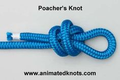 Poacher knot (for hanging the mobile)