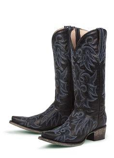 Black Texas Boots
