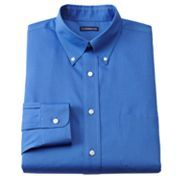 Croft and Barrow Classic-Fit Solid Spread-Collar Dress Shirt
