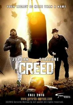 CREED!!!! Cinema Posters, Film Posters, Movies Free, Great Movies, See Movie, Movie Tv, Rocky Stallone, What Is Drama, Rocky Film