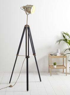 harley tripod floor lamp floor lamps home lighting. Black Bedroom Furniture Sets. Home Design Ideas