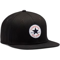 Converse Snapback Hat – black ( 25) ❤ liked on Polyvore featuring  accessories 7a7cb4b90a59