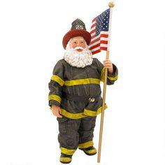 Jake Fireman Possible Dreams Santa Figure my next Santa!