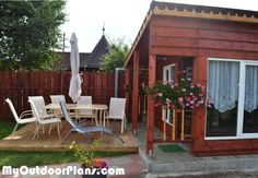 DIY Summer Kitchen | MyOutdoorPlans | Free Woodworking Plans and Projects, DIY Shed, Wooden Playhouse, Pergola, Bbq
