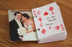 DIY 52 reasons I love you - cute present to the groom
