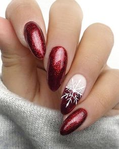 The Cutest and Festive Christmas Nail Designs for Celebration – Xmas Nails - W. - The Cutest and Festive Christmas Nail Designs for Celebration – Xmas Nails – Water - Cute Christmas Nails, Christmas Nail Art Designs, Xmas Nails, Holiday Nails, Winter Christmas, Xmas Nail Art, Red Nail Art, Christmas Manicure, Christmas Design
