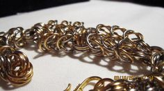 Elegant Silver and Gold Double Box Chain Bracelet by YODISign, $36.00
