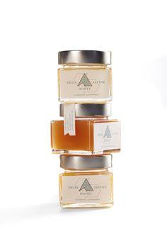 www.swissalpinehoney.com, set of 3 honeys from one alpine beekeeper. Dandelion Springtime Honey, Alpine Blossom Summer Honey, Alpine Rose Honey.