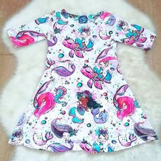 """Mummy's Little Munchkins az Instagramon: """"I've just listed the gorgeous mermaid 🧜♀️ 🧜♀️ A line dress in age 2-3 years (3T) And its in the sale. Why not pop over and get yourself a…"""" 3 Years, You Got This, Mermaid, Age, Kids, Outfits, Clothes, Dresses, Women"""