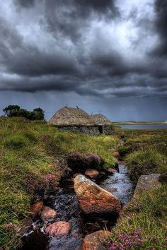 Norse Mill Blackhouses, Isle of Lewis, Outer Hebrides