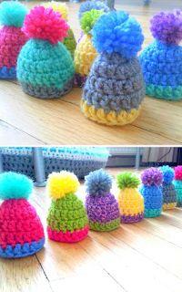 Crochet Gifts, Knit Crochet, Crochet Ornaments, Christmas Gifts, Christmas Ornaments, Loom Knitting, Decoration, Crochet Projects, Crochet Necklace