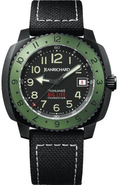 Limited Editions Watch Highlands Big Life by Jean Richard