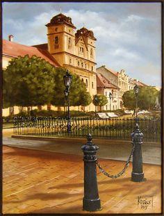 Premonštránsky kostol - 60 x 45 | 350 €