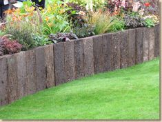 Paving Expert - AJ McCormack & Son - Hard Landscape Features - Building with Sleepers