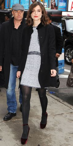 Look of the Day: November 10, 2012 - Keira Knightley : InStyle.com