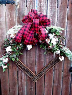 Grapevine Christmas, Christmas Wreaths To Make, How To Make Wreaths, Christmas Projects, Kids Christmas, Grapevine Wreath, Cotton Bowl, Seasonal Decor, Holiday Decor