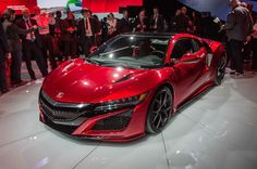 2016 Acura NSX                                                Top 10 Horsepower-Hungry Cars From the Detroit Show