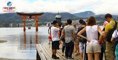 Turistas estrangeiros continuam aumentando no Japão, que atingiu novo recorde de visitantes.
