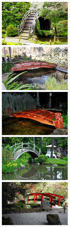 15 Japanese Inspired Garden Bridges Are you a fan of anything Japanese? Then you will surely love this list!    You have just seen a collection of wooden garden bridges. For sure, you were awed by its beauty and how this structure can add appeal to your gardens whatever their design is. Even a...