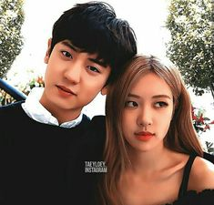 a Love Story in Granada Park Chanyeol Exo, Kpop Exo, Mermaid Stories, Kpop Couples, Blackpink Memes, Blackpink And Bts, Ulzzang Couple, Chanbaek, Reaction Pictures