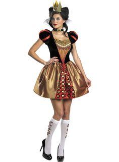 Rote Königin Freches Kostüm - Alice im Wunderland - Sexy Kostüme - kostueme escapade
