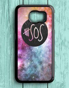 5 Second Of Summer Logo Galaxy Samsung Galaxy S6 | Samsung S6 Case