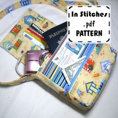 PDF Purse Pattern Small Adventure Bag EASY by sidquilts on Etsy, $8.00
