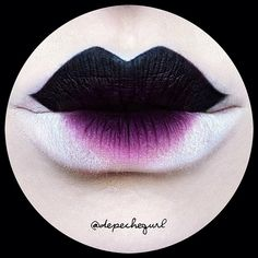 #ShareIG Close up of my • Geisha Mod • Lips (details in previous post)