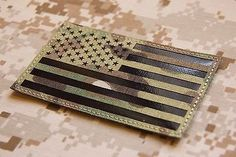 Sweet Camo Style American Flag Decal Available In Reversed As Well As