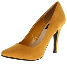 THAISALE - Pumps-CR-01-Mustard @ www.thaisale.co.th