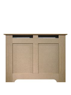 Radiator Cover for hallway - £55. Very.co.uk Adam Fire Surrounds 120cm Unfinished MDF Radiator Cover