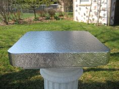 Cake Stand 16 inch Square Simply Elegant by BezInnovations on Etsy, $36.00