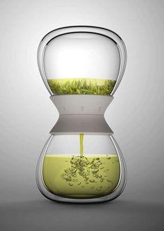 Beautiful hourglass infuser  Tea-Time Tea Maker http://www.pinterest.com/pin/242983342371218310/