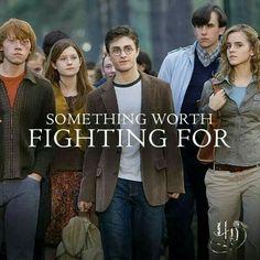 Ron, ginny, harry, neville et hermione